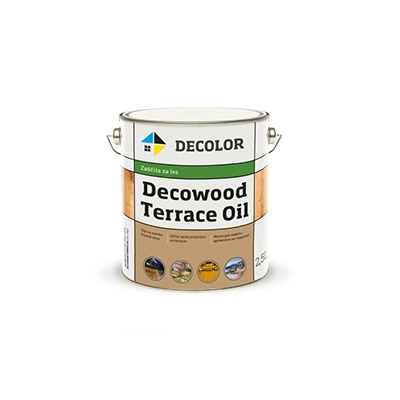 Покрытие из натуральных масел, смол и восков - Decowood terrace oil